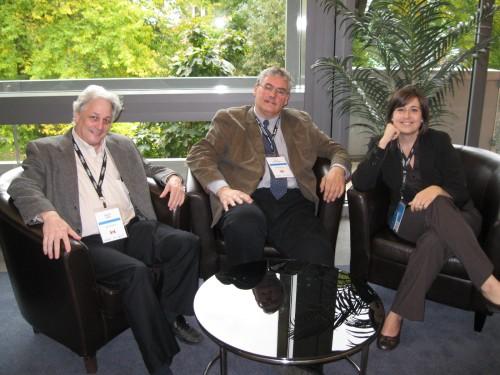Darryl Reed, Nick Mathews, Erin Hancock. CASC at Summit 2012